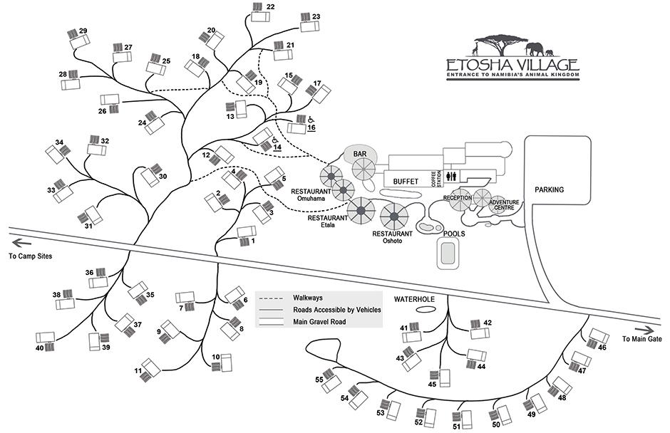 etosha village layout