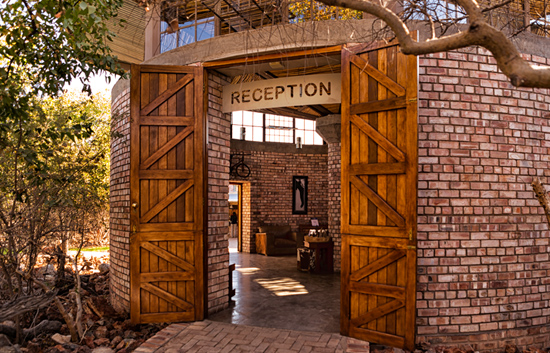 Etosha Village Reception Entrance